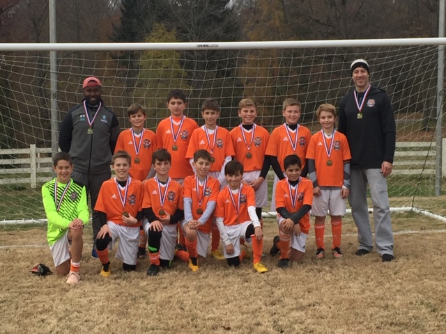 Nether 2007 Boys - DELCO Soccer League Champions!